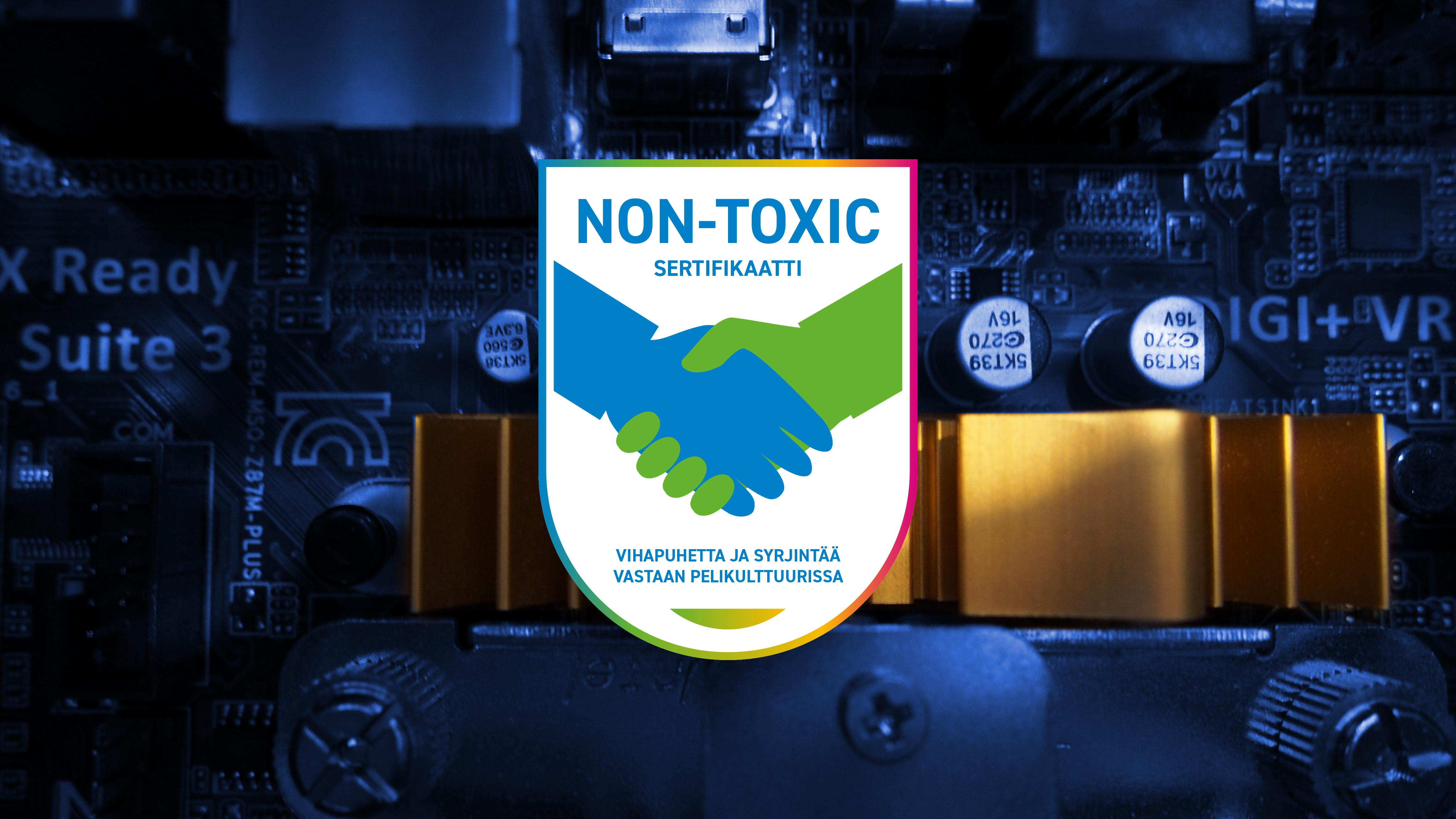 Non-toxic sertifikaatti